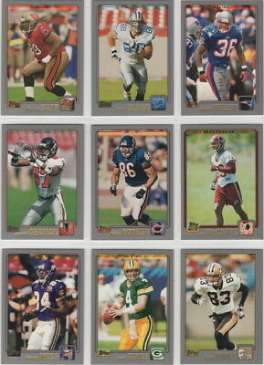 abc46f981 2001 TOPPS FOOTBALL Complete Team Sets   Pick Your Team   -  1.99 ...