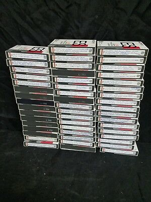 Lot of 50 Beta Betamax Tape Sony Dynamicron ES L-750 TV Show Movie Sold As Blank