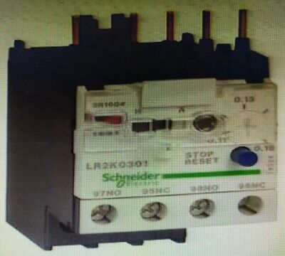 Schneider TESYS K THERMAL OVERLOAD RELAY Class-10A 690V- 0.8-1.2A Or 1.2-1.8A