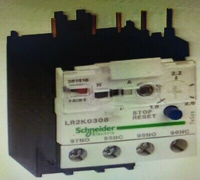 Schneider TESYS K THERMAL OVERLOAD RELAY Class-10A 690V- 1.8-2.6A Or 2.6-3.7A