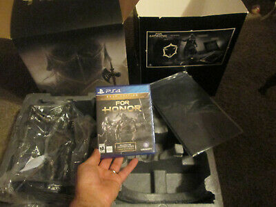 For Honor Apollyon COLLECTOR'S Edition PS4 GAME GOLD EDITION SEALED + STATUE NEW