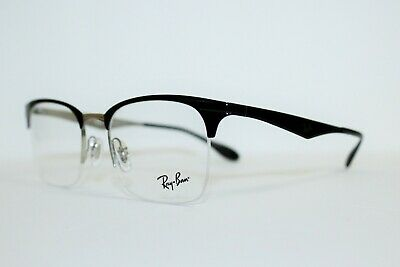 16a6406bb6a New Authentic Ray-Ban Rb 6360 2861 Black Frames Eyeglasses Rx 51 Mm Rb6360