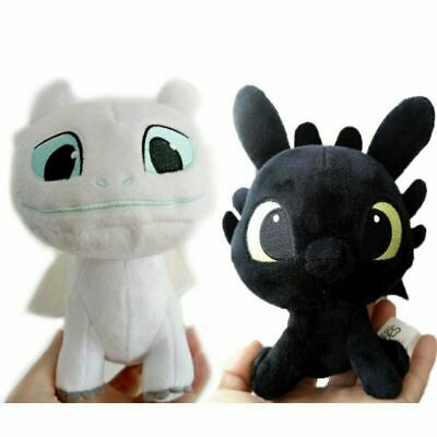 a78a5befd3d How to Train Your Dragon Light Fury plush toy Toothless girlfriend white  dragon