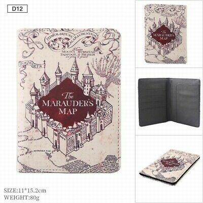 Anime Harry Potter magic wallet Card Holder coin Purse Gift 4Style