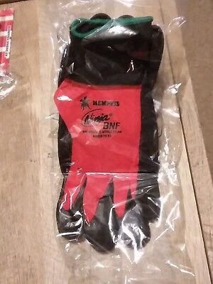 Lot Of 2 Memphis Ninja Breathable Nitrile Foam BNF Gloves Size XL New Unopened