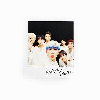 [MONSTA X] Take.2 'WE ARE HERE' Album Official Polaroid/Photocard - GROUP 2
