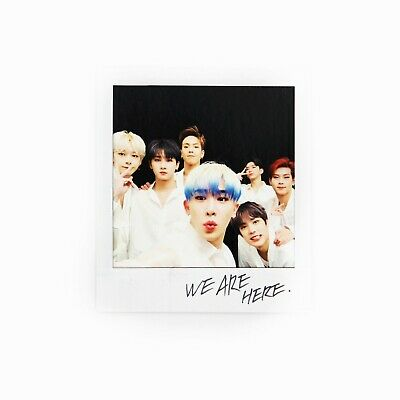 [MONSTA X]2nd Album Take.2 'WE ARE HERE' Official Polaroid/Photocard/GROUP 2
