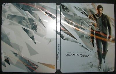 Quantum Break Steelbook En Metal Collector