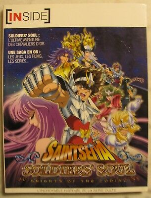 SAINT SEIYA SOLDIERS'SOUL KNIGHTS OF THE ZODIAC Livre INSIDE