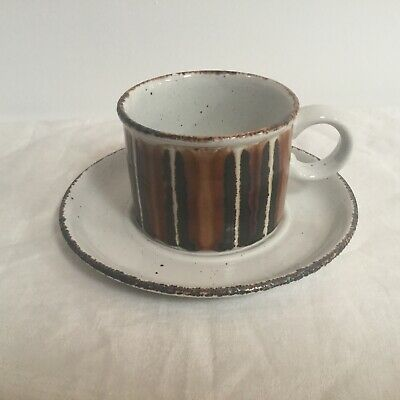 Stonehenge Midwinter Earth Cup And Saucer Stoneware