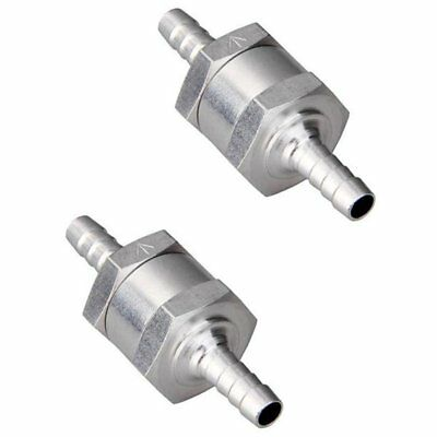 10mm One-way Non Return Valve Aluminum Universal Non Return Inline Check Valve