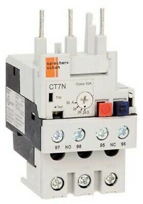 Sprecher+Schuh THERMAL OVERLOAD RELAY For CA7-30/37- 15-20A,17.5-21.5A Or 21-25A