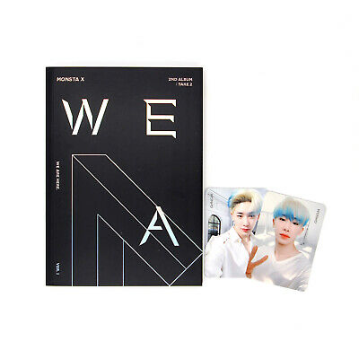 [MONSTA X]Take.2 'WE ARE HERE'/VER.1/Poster Option/Album+2 WONHO Pcs