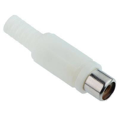 10 x White RCA Phono Socket Connector