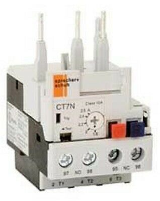 Sprecher+Schuh THERMAL OVERLOAD RELAY For CA6 & CA7 - 1.8-2.5A Or 2.3-3.2A