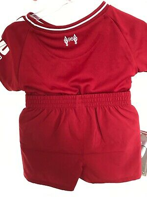 various colors eca81 155fe OFFICIAL LIVERPOOL HOME Baby Kit 2018-19 New Balance Football 3-6 months