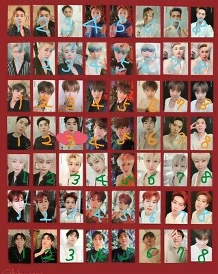 MONSTA X - 2nd ALBUM Take.2 'WE ARE HERE' Official Photocard - Choose each