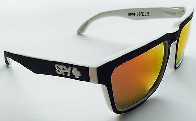91c688453fdec New Spy Optic Helm Whitewall Happy Grey Green Red Spectra Lens Sunglasses