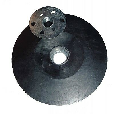 Rubber Sanding disc Backing Pad .115mm  .(Made in Germany)
