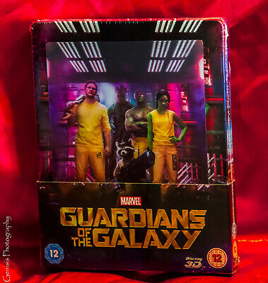 Guardians Of The Galaxy Vol 1 3d Lenticular Caja Metálica Zavvi Edición + Art