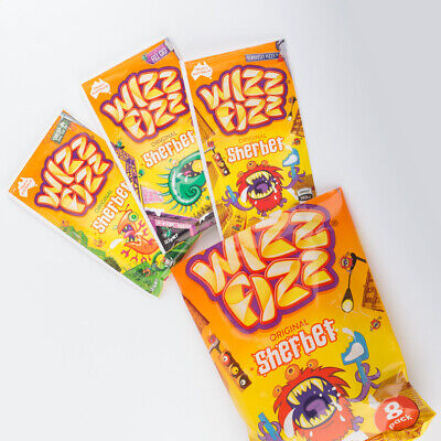 25 sachets FIZZ WIZZ Sherbet Candy Powder Original Flv. 12.5g each lolly buffet