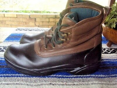 037338034d6 Converse Sure Grip Leather Steel Toe Boots ASTM F2413-05 Size 12 EW  Waterproof