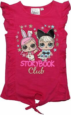 Lol Surprise Doll Girls Kids Short Sleeve T Shirt