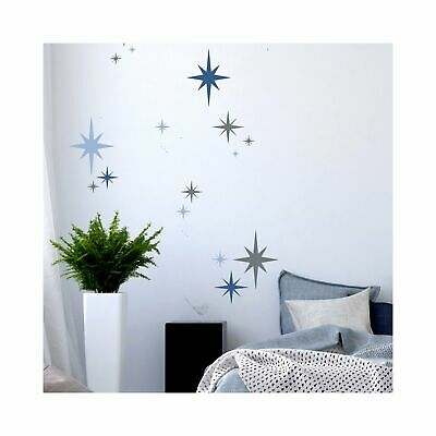 8-POINT STAR SET OF 6 Stencils - Furniture Wall Floor Stencil for Paint