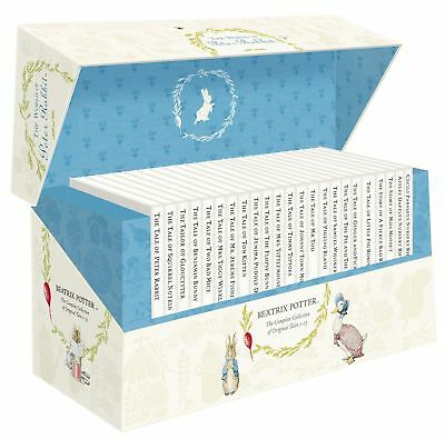 Beatrix Potter Peter Rabbit Library 23 Books Collection Box Set - New & Sealed!