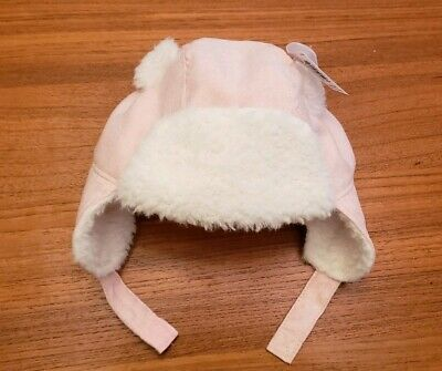 OLD NAVY BABY Sherpa Lined Trapper Hat Size 0 6 12 18 Months Bear ... 632a32b6473d