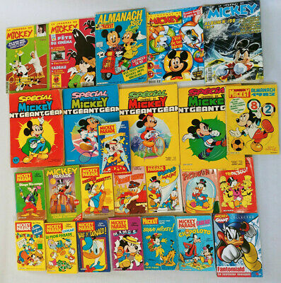 Joli Lot 25 Journal De Mickey Geant Parade... Picsou
