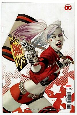 Harley Quinn #57 (DC Comics 2019) COVER B TEDESCO VARIANT Easy NM/MT 9.8