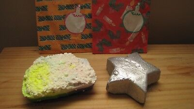 Lush Star Light Star Bright bath melt & Baked Alaska soap  - NEW & DISCONTINUED