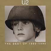 U2 - Best of 1980-1990 (1998) VGC