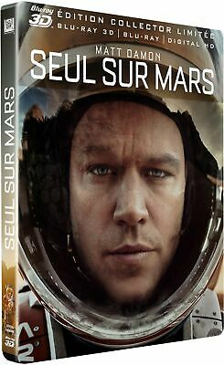 Seul sur Mars [Combo Blu-ray 3D + Blu-ray + Digital HD - Édition Collector Limit