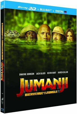 Jumanji : Bienvenue dans la jungle [Blu-ray 3D + Blu-ray + Digital UltraViolet]