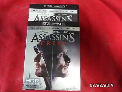 Assassin's Creed 4k with blu ray, no digital code, will combine shipping, VGS