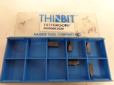"""14 USA Design Groove by Thinbit #CN030531B .018/"""" Carbide Grooving Inserts Qty"""
