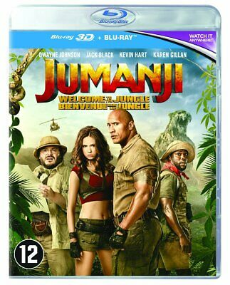 Jumanji : Bienvenue Dans la Jungle - Edition 3D [Blu Ray 3D + Blu Ray] [Blu-ray]