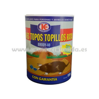 Poison contra souris, à Pois, campagnols, rats BRODY 40 - 150g (Bromadiolone)