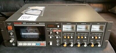Vintage 1980s Tascam 133-B 3Ch High-Speed Cassette Deck - COMES WITH NEW BELT