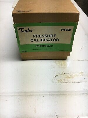 Vintage Taylor 44S390 Calibration Pump, 0 to 18 PSIG Pressure-New Old Stock