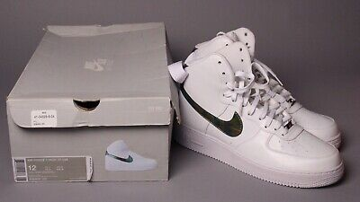 Nike Air Force 1 High 07 LV8 White Metallic Holographic  806403-100 Size 12