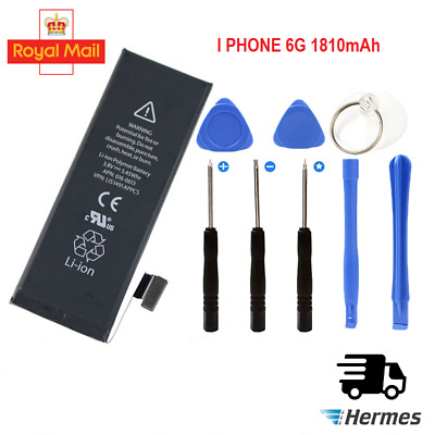 NEW Replacement Battery for iPhone 6 Full Capacity 1810mAh Li-ion free tools kit
