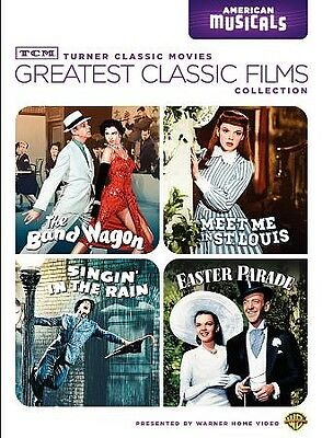 Meet Me In St. Louis/band Wagon/singin' In The Rain/easter Parade(Musicals) Tcm