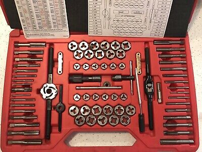Snap-on Snap On Tools TDTDM500A 76 piece Master Deluxe Tap and Die Set