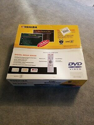 Toshiba SD-H400 Tivo Series 2 80GB DVR And DVD Player With Remote. Brand New