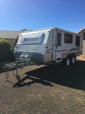 Jayco - Freedom - Off-Road Outback.  With Tinnie, 15 HP, Trailer(sale this week)