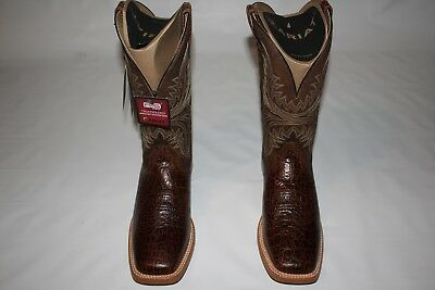 3b5a46e4085 ARIAT MEN S COWHAND Wide Square Toe Boots Sz 12 D (MED) NEW! 10017381 -   139.99