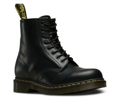 Men's Shoes Dr. Martens 1460 8 Eye Leather Boots 11822006 Black Smooth *New* 12s
